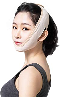 Face Slimming for Women, Face Lifting Slimming V Face, Delicate Facial Thin Face Slimming Bandage Shape Care Skin Strap An...