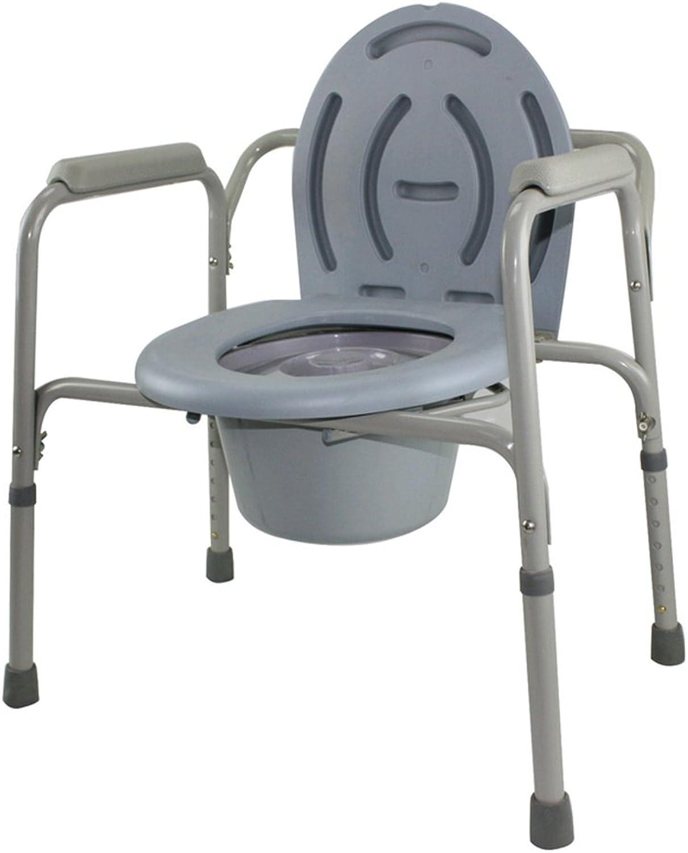 GZHYZ Old man toilet chair toilet bowl mobile toilet chair pregnant woman toilet seat chair