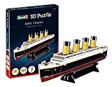 Revell- RMS Titanic 3D Puzzle, Multicolor (00112)