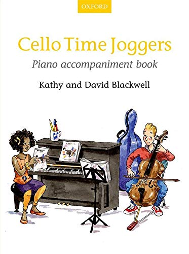 Cello Time Joggers Piano Accompaniment Book: Piano Part