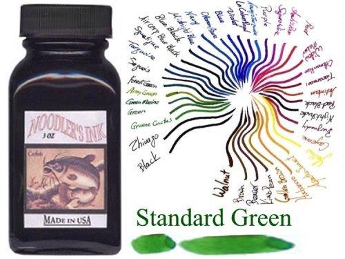noodler de pluma estilográfica de tinta embotellada tinta, 3oz, color verde estándar: Estándar Verde, B? roartikel