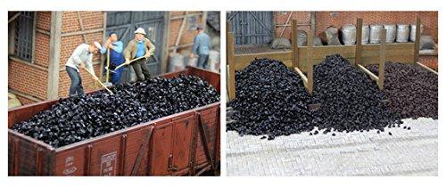 Juweela 24127 Steinkohle - schwarz glänzend 150 g