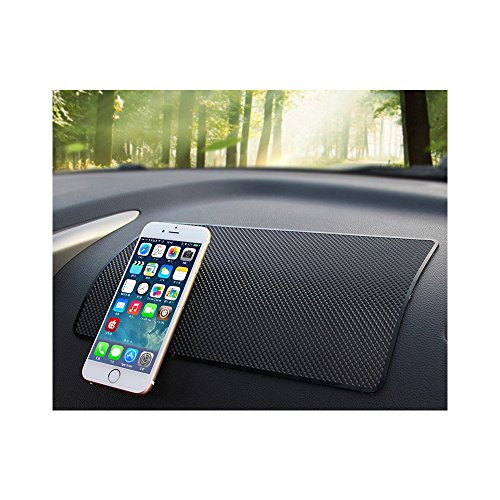 PVC Cellphone Non-Skid Pad Car Mat Car Dashboard Sticky Pad Adhesive Mat for Mobile Phone