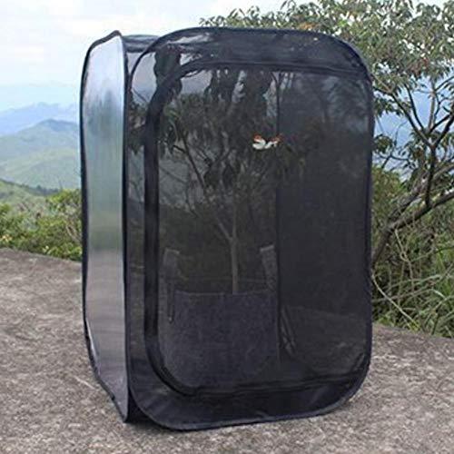 Coseyil Insekt und Schmetterling Lebensraum Käfig Terrarium Foldable Mesh Cloth Ventilate Insect Incubator Storage Box