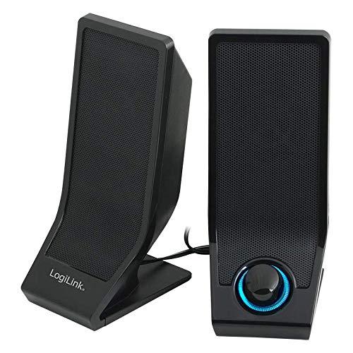 LogiLink SP0027 Lautsprecher USB, schwarz