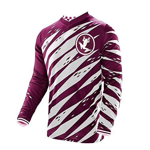 Uglyfrog 2019 Herren Mountainbike Downhill Freeride BMX Trikot Shirt Motocross Langarm Ärmel MTB/Downhill Cycling Jersey