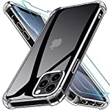 Kensou Coque Compatible avec iPhone 12 Pro Max 6.7 Pouces avec 2 Verres Trempés Protection écran -...