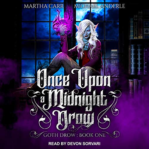 Once Upon a Midnight Drow cover art