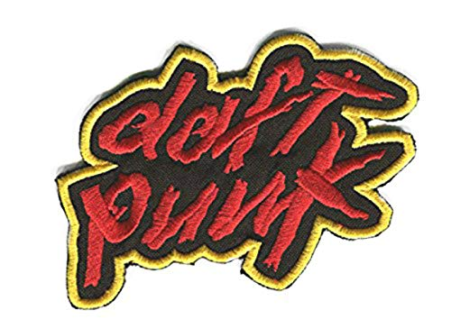 XL Daft Punk Logo Patch 8.5 Inch Embroidered Iron on Badge Applique Costume Cosplay Tribute Souvenir by Premier Patches