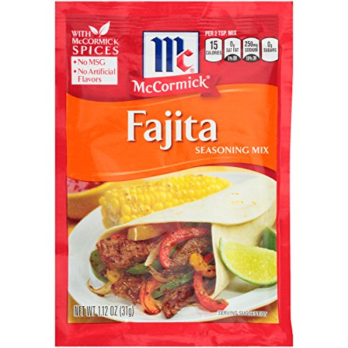 McCormick Fajitas Seasoning Mix, 1.12 oz