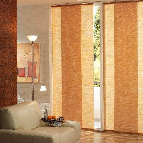 Liedeco Flächenvorhang, Schiebevorhang Bambus Natur | B 60 x H 245 cm