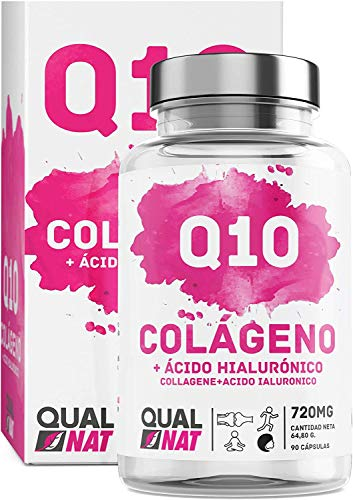 Collagene marino con acido ialuronico + 90 cap- Qualnat