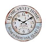 reloj pared vintage retro grande