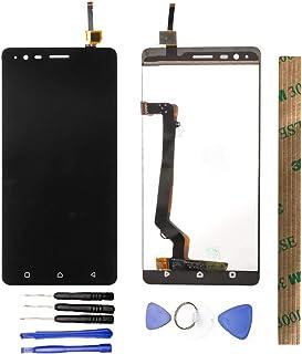 JayTong شاشة LCD مثبتة بمدخل رقمي مزود بخيار مجانية لـLe novo Lemon K5 Note K52t38 a7020a48 A7020 أسود