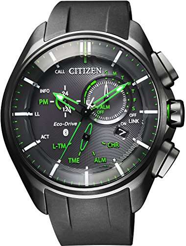 "Citizen Eco Drive Bluetooth ""Super Titanium Model"" BZ1045-05E"