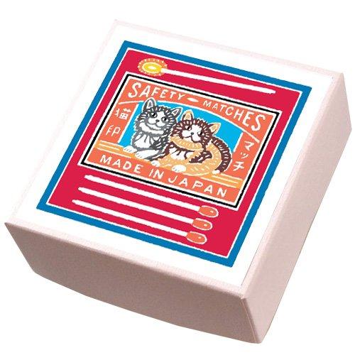 【鈴廣かまぼこ】こ・こ・ろ 赤箱 猫印のマッチ箱