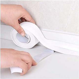 Janolia - Cinta de sellado autoadhesiva para baño y pared,