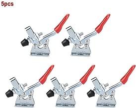 5pcs Toggle Clamp Iron Quick Fixed zincato Tipo verticale Capacità di tenuta a mano Toggle Clamp(GH-201)
