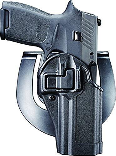 BLACKHAWK 410561BK-R Serpa CQC Concealment Holster, Right Hand, Matte Black - Fits SIG P250 & P320 (not sub-compact)