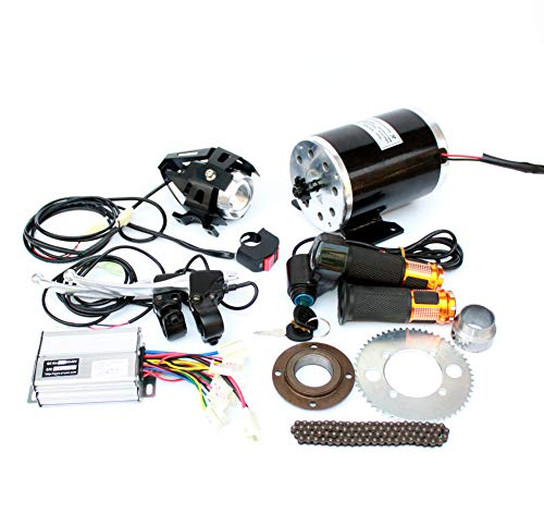 1000W Moto electrica Motor Kit cambiando el Gas ATV ATV 4 Ruedas electrico DIY Electric Scooter electrico Motor vehiculo Infantil (48V Twist Kit)
