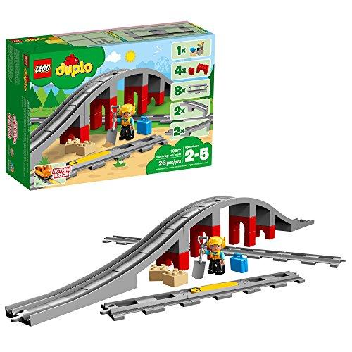Lego Dulpo 10872 2018 Chevalet de Fer avec Rail 26 pièces