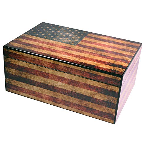 Old Glory Humidor (25-50 Capacity)