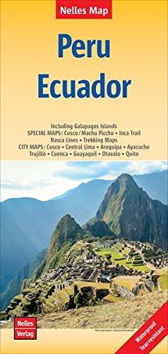 Nelles Map Landkarte Peru - Ecuador: 1 : 2,500,000