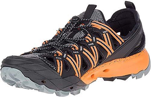 Merrell Men's Choprock Water Shoes, Black (Flame Orange), 8 UK (42 EU)