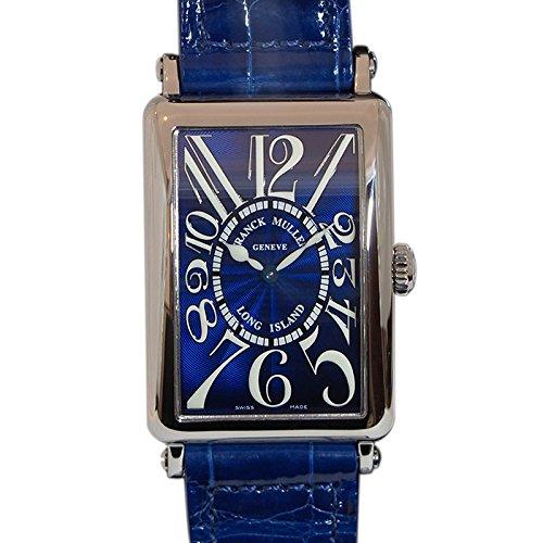 フランク・ミュラー FRANCK MULLER ロングアイランド 952QZ ブルー文字盤 腕時計 レディース (W185282) [並行輸入品]