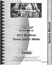 Oliver 1600 Backhoe Attachment Service Manual (Attachment)