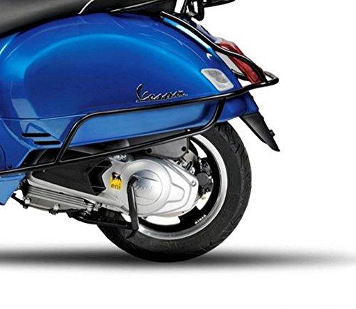 Preisvergleich Produktbild Original Vespa seitliche Sturzbügel für GTS 125,  GTS 250,  GTS 300 in schwarz