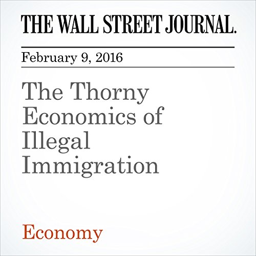 The Thorny Economics of Illegal Immigration audiobook cover art