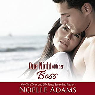 One Night with Her Boss audiobook cover art