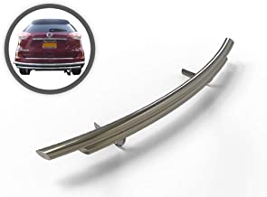 VGRBG-1018-1169SS Stainless Steel Double Layer Rear Bumper Guard compatible with 08-18 Nissan Rogue