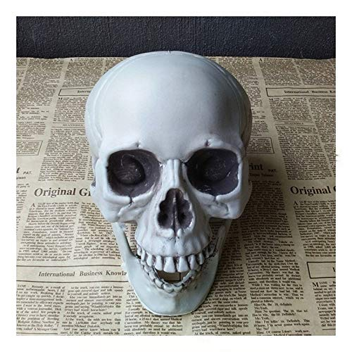 NKIE Fun Halloween Decorazioni, Skulls Halloween Decorazioni di Liquidazione, Puntelli di Halloween Decor Adatto for Halloween Haunted Houses riunione di Famiglia (Color : 1.5x2x2.5cm Size 10)