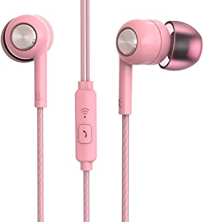 Wgxyihai Gaming Headset Piston in Ear Earphone Fresh Version Stereo with Mic Headset Fit for Xiaomi Hi-fi Stereo Headphones