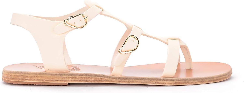 ANCIENT GREEK SANDALS Woman's Ancient Greek Grace Kelly Ivory Leather Sandal