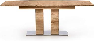 Marque Amazon -Alkove - Hayes - Table à rallonges en bois massif, 205cm, Chêne