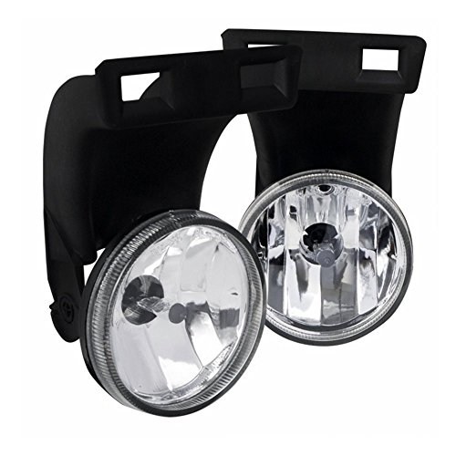 AUTOSAVER88 Fog Lights 896 12V 37.5W Halogen Lamp For 1994-2002 Dodge Ram 1500 2500 3500 Pick Up Truck (Clear Lens w/Bulbs)(Only fit Without Sport Package model)