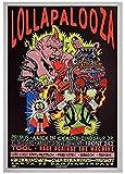 RZHSS Lollapalooza Music Festival Poster Poster Dekorative