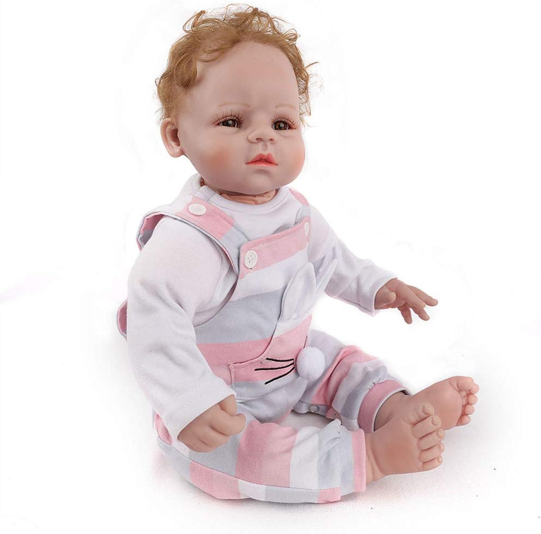 Realistische Mdchen Baby Puppe 20Inch Vinyl Nette Locke Wird Nicht Blinken Kann Nicht Im Wasser Baden