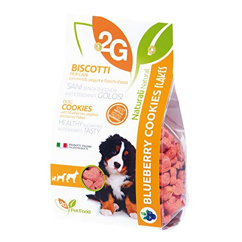 2G PET FOOD Blueberry Cookies - 350 g
