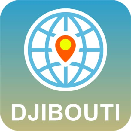 Djibouti Mapa off-line