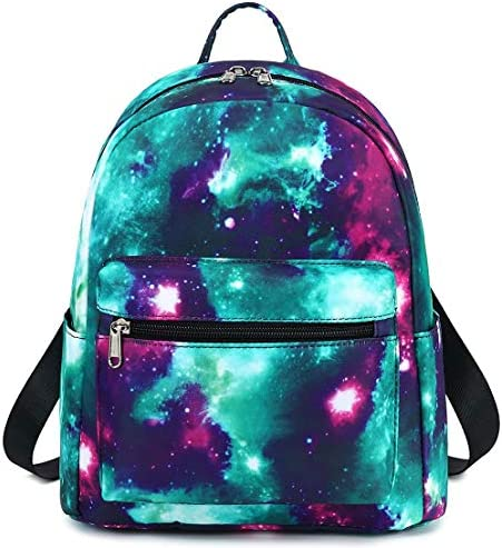Girls Mini Backpack Womens Small Backpack Purse Teens Cute Galaxy Travel Backpack Casual School product image