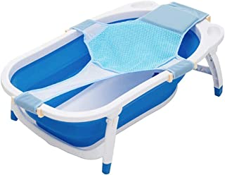 Freewalk Baby Bath Support Seat, Newborn Shower Mesh for Bathtub, Adjustable Comfortable Non-Slip Bath Seat for Infant 0-3...