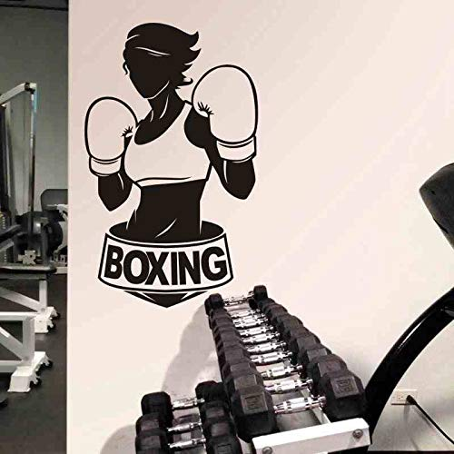 Tianpengyuanshuai boksing wandsticker kick boxer hit vinyl stormer Home Decoration wanddecoratie auto sticker
