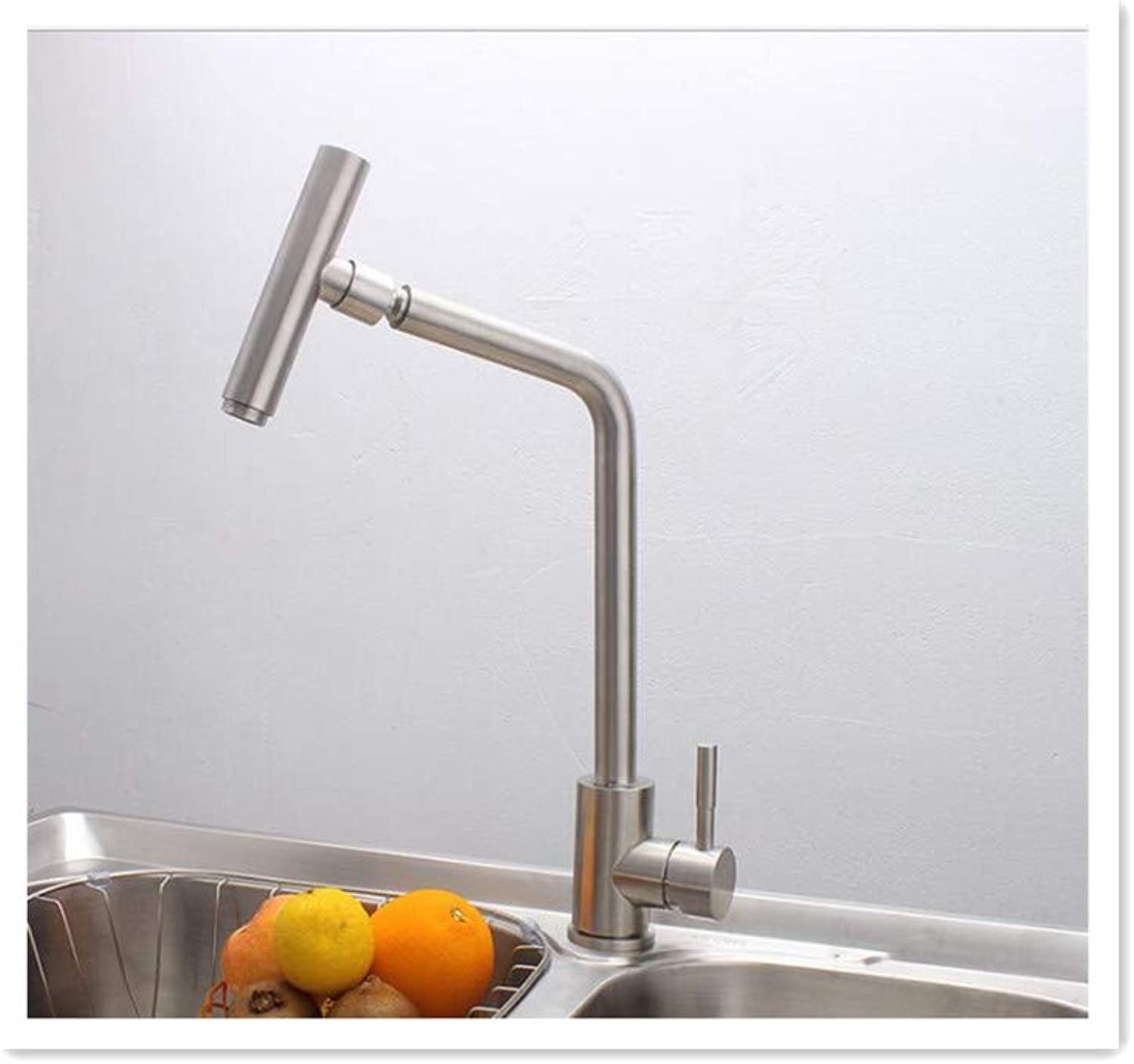 BBQBQ 304 stainless steel faucet thermostat kitchen faucet hot and cold water sink sink mixing valve bathroom