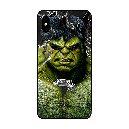 iPhone XR Case 6.1',Comics Case Plastic Cover for iPhone XR (Hulk)