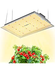 MAXSISUN LED Grow Light, Full Spectrum with Samsung Diodes Dimmable Growing Lamps for Indoor Plants Veg & Bloom
