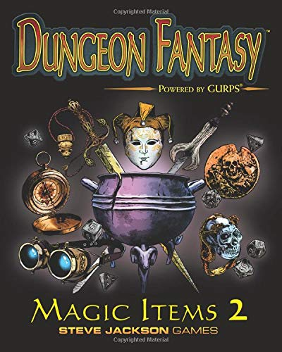 Compare Textbook Prices for Dungeon Fantasy Magic Items 2  ISBN 9781556348723 by Punch, Sean,Staff, Steve Jackson Games